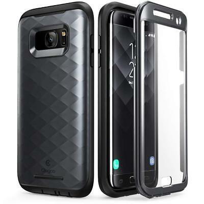 For Samsung Galaxy S7 Edge Case Clayco Hera Series Full-Body Cover with Screen