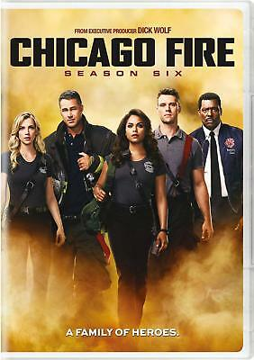 Chicago Fire The Sixth Season 6 DVD 2018 6-Disc Set  New US Seller-