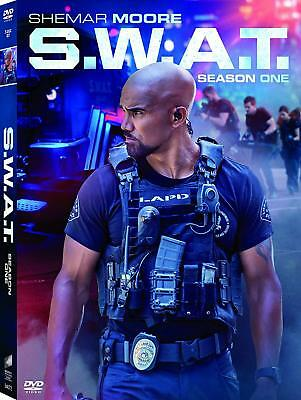S-W-A-T- Season 1 One DVD 2018 5-Disc Set NEW The Complete First 1st SWAT