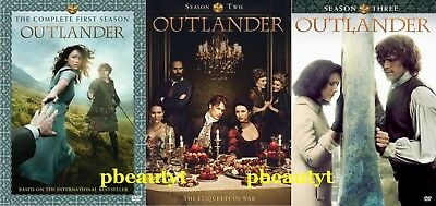 OutlanderThe Complete Seasons 1-3 3 DVD Sets NEW Series Vol-1 2 First Second Th