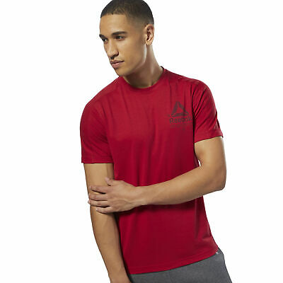 Reebok Mens Speedwick Graphic MOVE Tee
