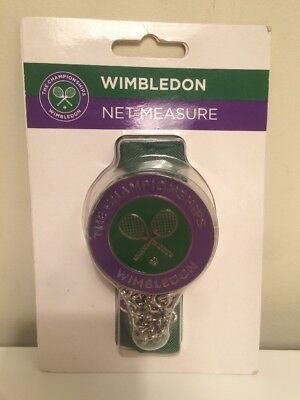 Wimbledon Tennis Championships RARE Official Net Height Measure Enamelled NEW