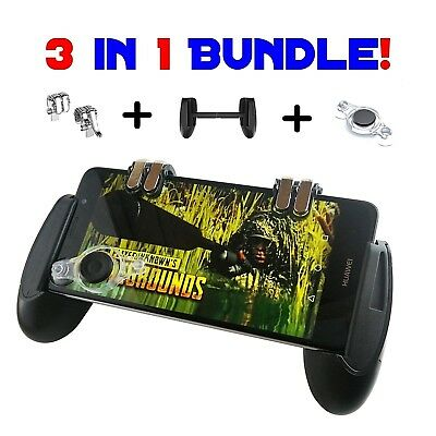 Mobile Game Controller  Phone Grip wTriggers and Joystick BUNDLE FortnitePUBG
