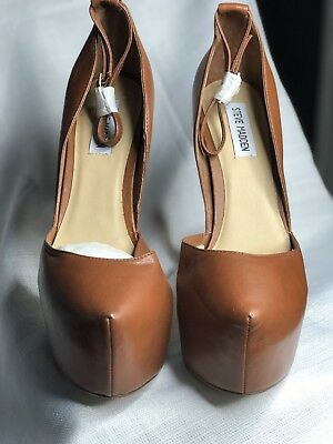 Steve Madden Women Platform Deeny Shoe in Brown Size 10 New Without Box