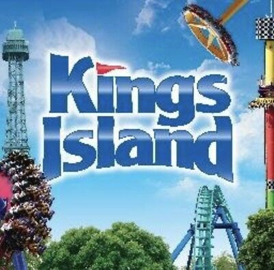 KINGS ISLAND Ticket 19 - PARKING - MEAL DEAL Promo SAVE Discount Tool 57-00