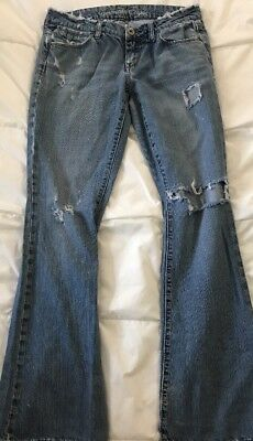 American Eagle Outfitters Real Flare Womens Jeans Size 4 Reg