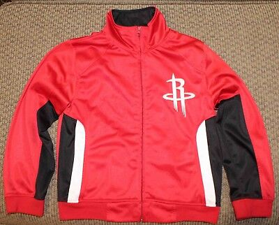 Houston Rockets NBA Exclusive Collection RedBlack Jacket Youth Size Small