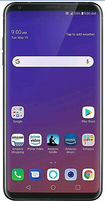 LG  V35 ThinQ 64GB Black GSM Unlocked AT-T - LG Warranty