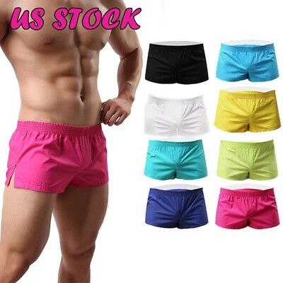 Mens Casual Short Pants Gym Fitness Jogging Running Sports Wear Shorts Trousers
