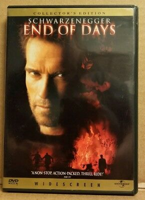 END OF DAYS DVD FEATURING ARNOLD SCHWARZENEGGER