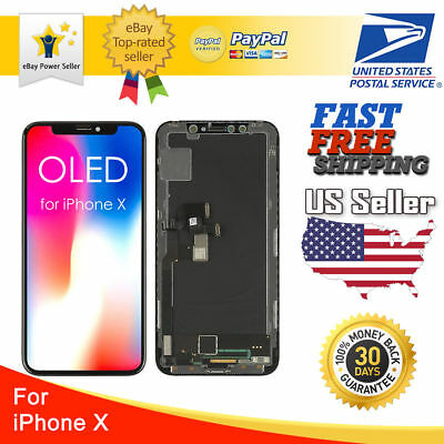 OEM Quality OLED Display LCD Touch Screen Digitizer Repair For iPhone X 10 XR XS