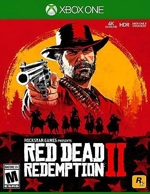 Red Dead Redemption 2 - Xbox One 2018 NEW FREE SHIPPING
