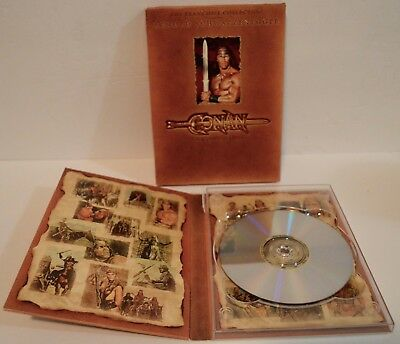 Arnold Schwarzenegger CONAN The Complete Quest The Barbarian The Destroyer DVD