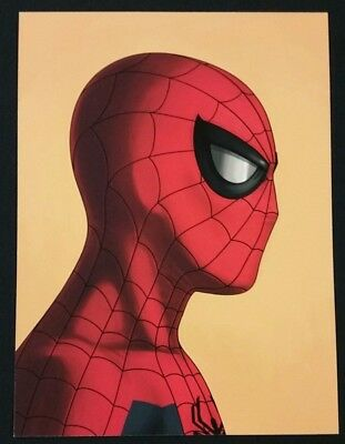Mike Mitchell Mondo Marvel Original Spider-Man Portrait Print Giclee Proof