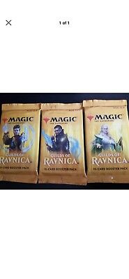 FIVE5x New Guilds Of Ravnica Booster Packs Factory Sealed