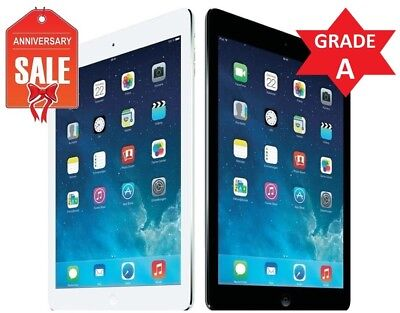 Apple iPad Air 1st WiFi - Cellular Unlocked I 16GB 32GB 64GB 128GB I Gray Silver