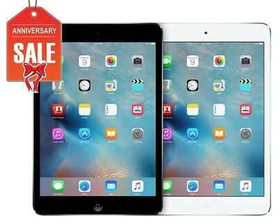 Apple iPad Mini 2 WiFi GSM Unlocked I 16GB 32GB 64GB 128GB I Gray Silver U