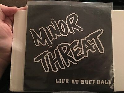 Minor Threat Live at Buff Hall 7 vinyl second press of only 500