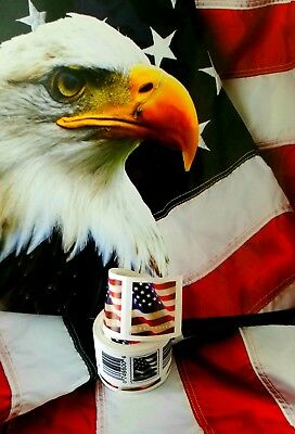 USPS Forever US Flag 201718 Stamps Roll of 100 Postage Postal COIL FIRST CLASS