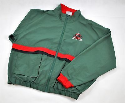 VINTAGE 1994 SEC Basketball Tournament Memphis Jacket Green Mens Size XL Retro