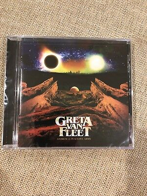 Greta Van Fleet Anthem Of The Peaceful Army BRAND NEW CD Free Shipping ASAP