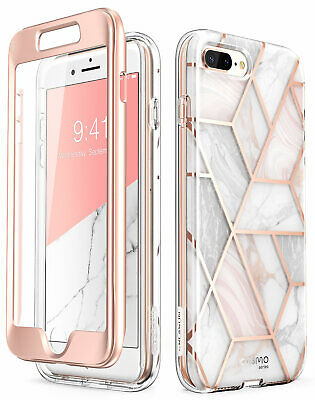 For iPhone 8 Plus 7 Plus Case i-Blason Cosmo Bumper Cover With Screen Protector