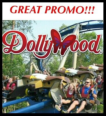 DOLLYWOOD - SPLASH COUNTRY TICKETS PROMO DISCOUNT TOOL SAVINGS 1 OR 3 DAYS