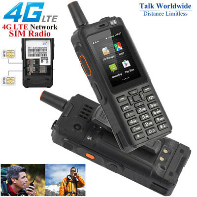 Unlocked 4G LTE Android Rugged Smartphone Two-way Walkie Talkie PTT Phone GPS