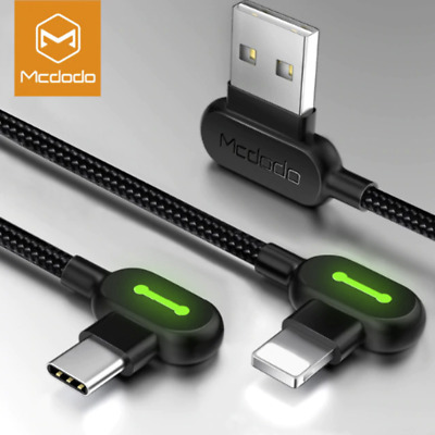 Mcdodo lightningType C Cable Charger Charging Cable Cord For iPhone Samsung LG