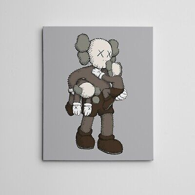16x20 Art Canvas Kaws Companion Clean Slate NYC Brian Donnelly Contemporary Art