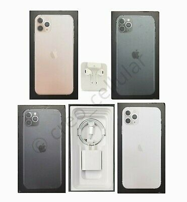 iPhone 11 Pro  Pro Max Box with All Genuine Apple Accessories Type C Lightning