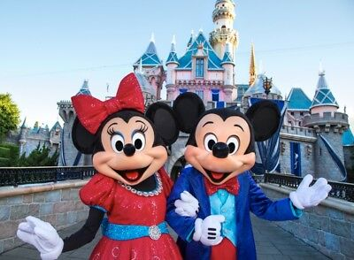 DISNEYLAND 1 PARK PER DAY 2 TO 5 DAY - MAGIC MORNING Tickets Promo LIMITED TIME