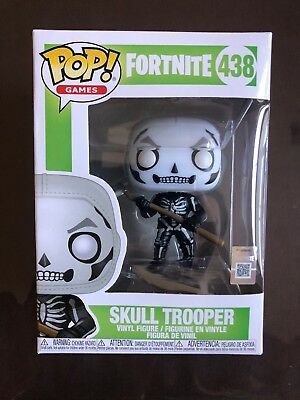 IN HAND FUNKO Pop Games FORTNITE SKULL TROOPER 438 4in Vinyl Figure