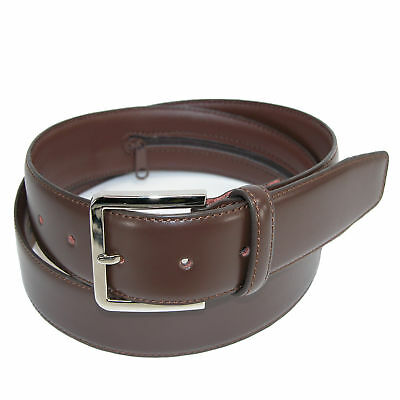 New CTM Mens Leather Travel Money Belt Large Sizes Available