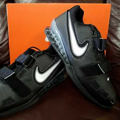 BRAND NEW IN BOX NIKE ROMALEOS 2 MENS WEIGHTLIFTING SHOES BLACK GREY WHITE 010