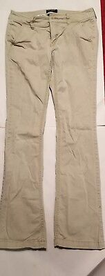 American Eagle Outfitters Kick Boot Stretch Khaki Womens Teen Size 2