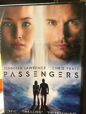 PASSENGERS  Jennifer Lawrence Chris Pratt DVD New Sealed