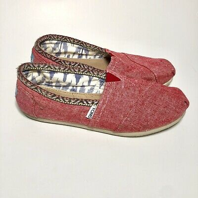 Womens Red Toms Shoes - Size 8