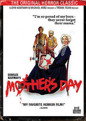 Mothers Day 1980 Good DVD Beatrice PonsMichael McCleeryFrederick CoffinD