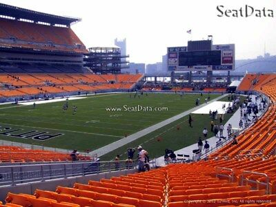 4 Steelers 2nd Preseason Home Game Tickets Lower Level Section 127