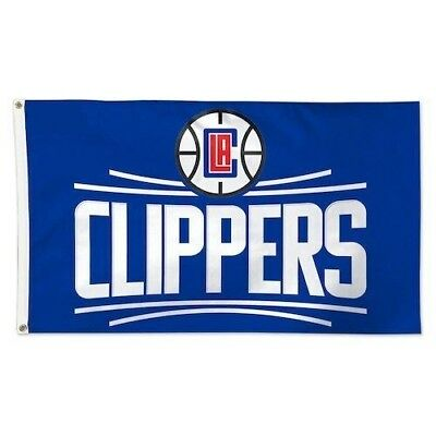Los Angeles NBA LA Clippers 3 x 5 Single-Sided Deluxe Flag