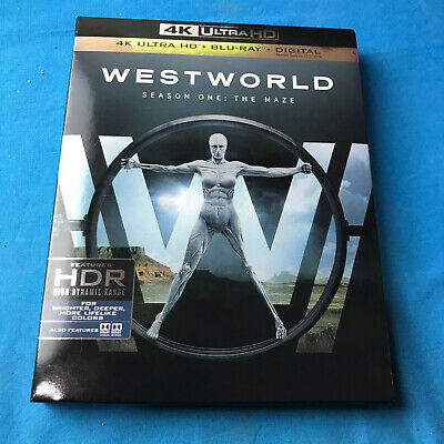 Westworld The Complete First Season 4K Ultra HD Disc only -Case - Slipcover