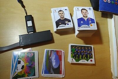 Panini Russia World Cup 2018 Stickers-Pick 5 make offer for other amounts