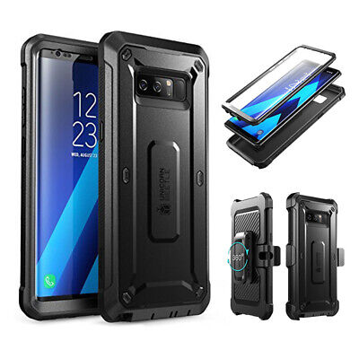 For Samsung Galaxy Note 8 Case SUPCASE Full-Body Rugged Holster Cover w Screen