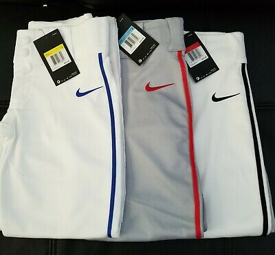Nike Vapor Pro Baseball Pants Piped 747228-055 Select  your SizeColor