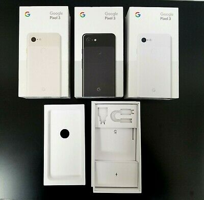 Google Pixel 3 3XL Box Original Retail Packaging Only No Phone No Accessories