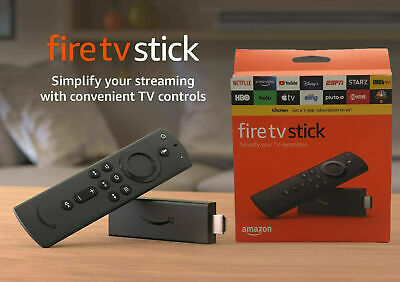 NEW Amazon Fire TV Stick 2nd Generation With Alexa Voice Remote 2019 Model