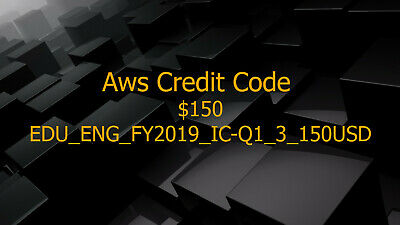 Aws Credit 150 Promo Code New Event Exp 2020