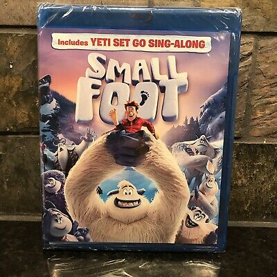 SMALLFOOT BLU-RAY - DVD - Digital 2 DISC SET - SLIPCOVER SLEEVE