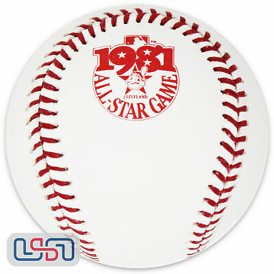 1981 All Star Game Rawlings Official MLB Game Baseball Cleveland Indians - Boxed